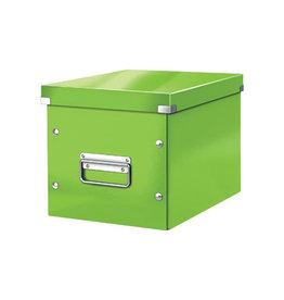 Leitz Leitz Click & Store kubus middelgrote opbergdoos, groen