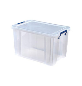 Bankers Box Bankers Box opbergdoos 26 liter, transparant blauwe
