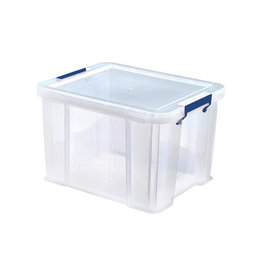 Bankers Box Bankers Box opbergdoos 36 liter, transparant blauwe