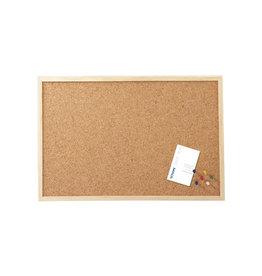 Maul Maul kurkbord met houten frame ft 40 x 60 cm