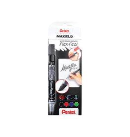 Pentel Pentel whiteboardmarker Maxiflo, 4 st., geassorteerde kl.