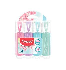 Maped Maped markeerstift Color'Peps, geassorteerde pastelkl. 4 st.