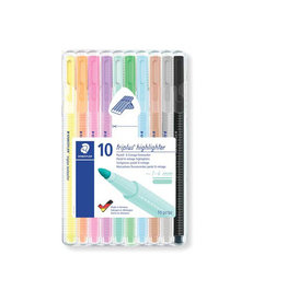 Staedtler Staedtler Triplus Textsurfer, opstelbare box van 10 kleuren