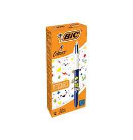 Bic Bic balpen 4 Colour Messages, Who's the boss?