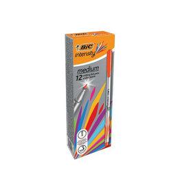 Bic Bic fineliner Intensity, medium, oranje [12st]