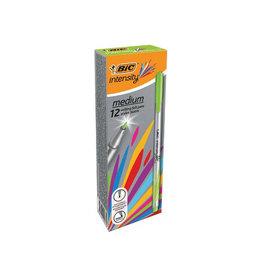 Bic Bic fineliner Intensity, medium, lichtgroen [12st]