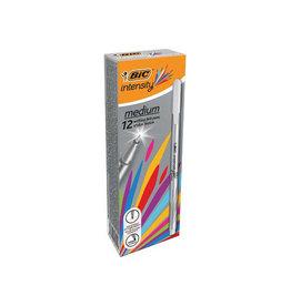 Bic Bic fineliner Intensity, medium, grijs [12st]