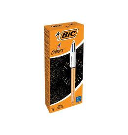Bic Bic balpen 4 Colour Frozen, doos van 12 stuks