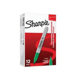 Sharpie Sharpie permanent marker, 1 mm, groen [12st]