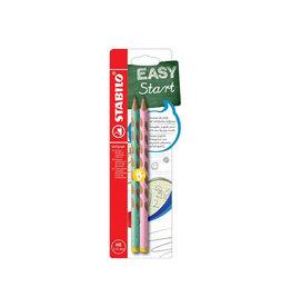 Stabilo STABILO EASYgraph Pastel potlood, HB, 3,15 mm, 2 st.