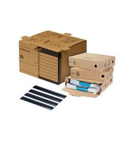 Loeffs Loeff's archiefdoos standaard Starterkit, golfkarton, bruin
