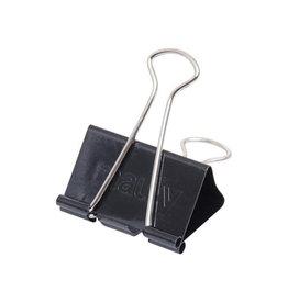 Maul Maul Foldbackclip mauly 215, 25mm, zwart, blister 12 st.