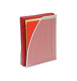 Alba Alba tijdschriftenhouder in mesh metaal, wit