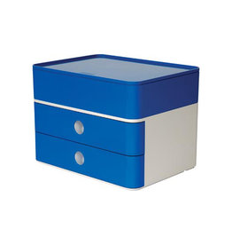 Han Han ladenblok Allison, smart-box plus, wit/blauw