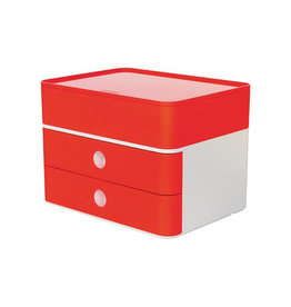 Han Han ladenblok Allison, smart-box plus, wit/rood
