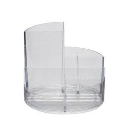 Maul Maul Bureaustandaard Roundbox, transparant