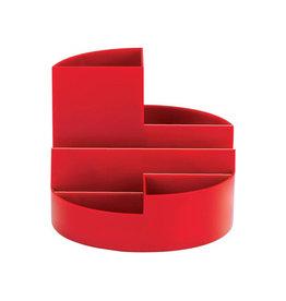 Maul Maul Bureaustandaard Roundbox, rood