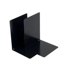V-part V-Part Boekensteun metaal, set van 2 stuks, zwart