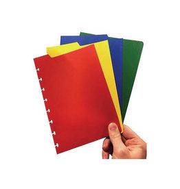 Correctbook Correctbook tabbladen ft A5, 4 tabs in geassorteerde kleuren