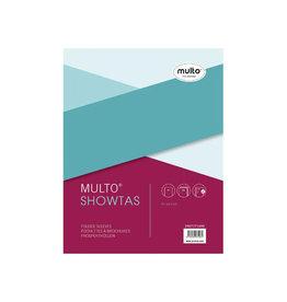 Multo Multo geperforeerde showtas A5, 17-gaatsperforatie, 80 mic.