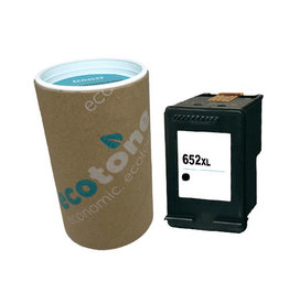 Ecotone HP 652XL (F6V25A) ink black 1320 pages (Ecotone)