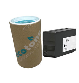 Ecotone HP 957XL (L0R40AE) ink black 3050 pages (Ecotone)