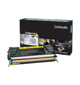 Lexmark Lexmark X746A1YG toner yellow 7000 pages return (original)