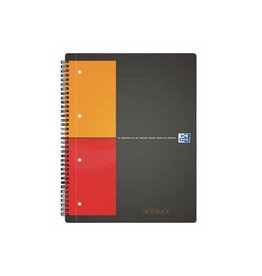 Oxford Oxford International Notebook Connect, 160bl, A4+, 5mm