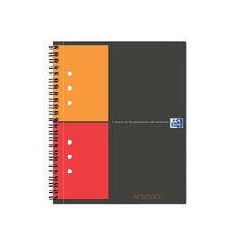 Oxford Oxford INTERNATIONAL Activebook 160blzijden A4+ geruit 5mm