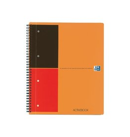Oxford Oxford INTERNATIONAL Activebook 160 bladzijden A4+ gelijnd