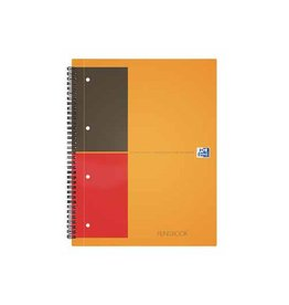 Oxford Oxford International Filingbook, 200bl, ft A4+, geruit 5mm