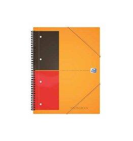 Oxford Oxford International Meetingbook 160 blzijden A4+ geruit 5mm
