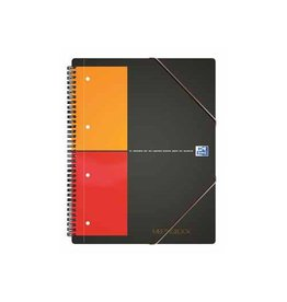 Oxford Oxford International Meetingbook 160 blzijden A5+ geruit 5mm