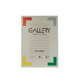 Gallery Gallery schetsblok, 21 x29,7cm(A4), 180 g/m², blok van 50vel