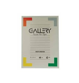 Gallery Gallery schetsblok, 21x29,7cm (A4), 180  g/m², blok 50 vel