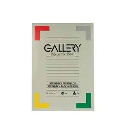 Gallery Gallery Steinbach tekenblok, 21x29,7cm A4, 250 g/m², 20 vel