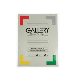 Gallery Gallery Steinbach tekenblok gekorreld 27x36cm 250 g/m² 20vel