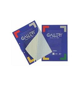 Gallery Gallery cursusblok, A4, 80 g/m², 2-gaats., gelijnd, 100 vel