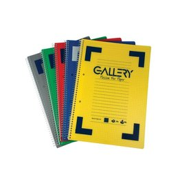 Gallery Gallery Traditional spiraalschri A4 div. kl. 160 bl [6st]