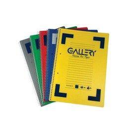 Gallery Gallery Traditional spiraalschrift A4 gelijnd  160bl [6st]