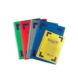 Gallery Gallery Traditional spiraalschri A5 5mm div. kl. 160bl [6st]