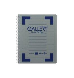Gallery Gallery Traditional spiraalschrift A5 gelijnd  160bl [6st]
