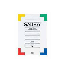 Gallery Gallery kalkpapier, ft 21 x 29,7 cm (A4), etui van 20 vel