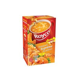 Royco Royco Minute Soup pompoensuprême met croutons, 20 zakjes
