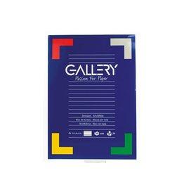 Gallery Gallery schrijfblok, ft A4, gelijnd, 100 vel