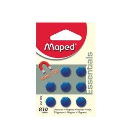 Maped Office Maped magneten op 10mm 8st 1 kleur per (gr. bl. of fuchsia)