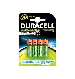 Duracell Duracell oplaadbare batterijen Recharge Ultra AA,blister 4st