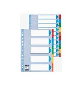 Esselte Esselte tabbladen voor ft A4 karton 10 tabs 11 [10st]