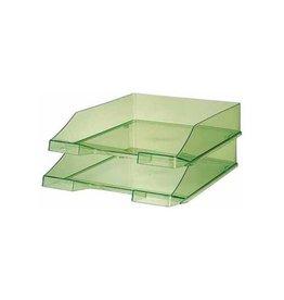 Han Han brievenbakje C4 transparant groen [6st]