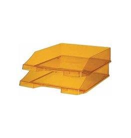 Han Han brievenbakje C4 transparant oranje [6st]
